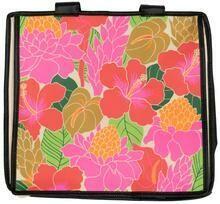 Tropical Paper Garden - Insulated Bento Casserole Bag - HYGGE CREAM BENTO