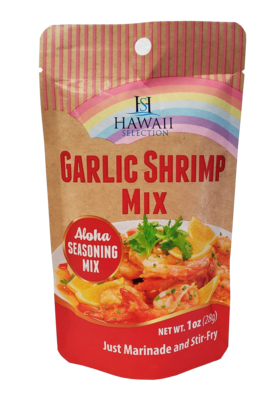 Hawaii Selection Garlic Shrimp Mix Packet 1oz