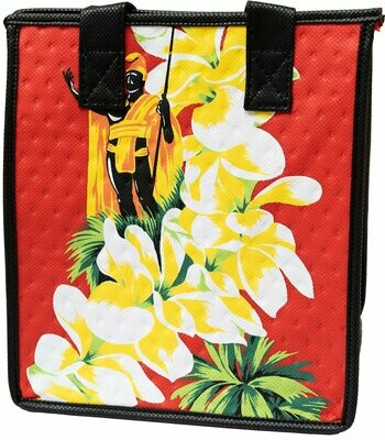 Tropical Paper Garden - Insulated Small Bag - KINGDOM RED