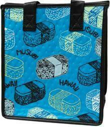 Tropical Paper Garden - Insulated Small Bag - FURIKAKE TURQ