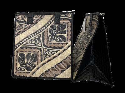 Tropical Paper Garden - Insulated Medium Bag -  KIAWE CREAM