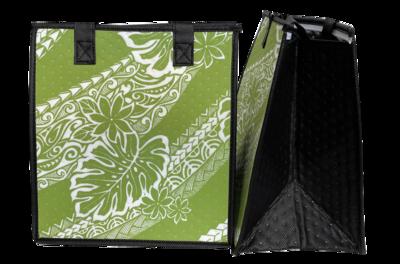 Tropical Paper Garden - Insulated Medium Bag -KILIHAU GREEN