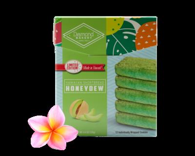 Diamond Bakery Hawaiian Shortbread Cookies - Honeydew  4.4 oz.