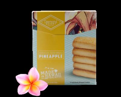 Diamond Bakery Hawaiian Shortbread Cookies - Pineapple 4.4 oz.