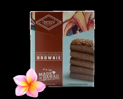 Diamond Bakery Hawaiian Shortbread Cookies - Brownie  4.4 oz.