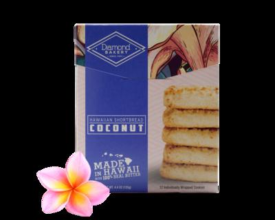Diamond Bakery Hawaiian Shortbread Cookies - Coconut  4.4 oz.