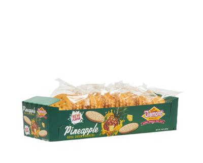 Diamond Bakery Royal Creem Cracker Original Small - Pineapple 8 oz