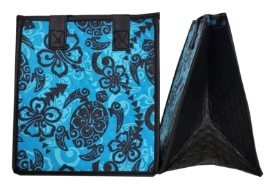 Tropical Paper Garden - Insulated Small Bag - SHOOTS TURQ