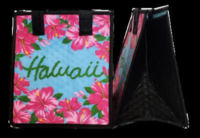 Tropical Paper Garden - Insulated Small Bag - TANGO SKY