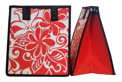 Tropical Paper Garden - Insulated Small Bag - MILO PET RED