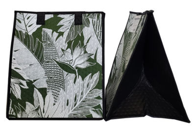 Tropical Paper Garden - Insulated Large Bag - KAMUELA OLIVE