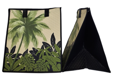 Tropical Paper Garden - Insulated Large Bag - MYSTIC OLIVE