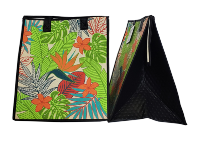 Tropical Paper Garden - Insulated Large Bag - ATMOS CREAM