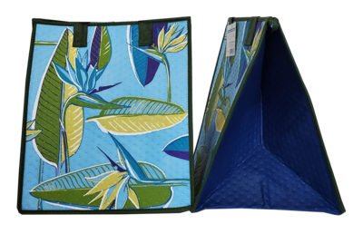 Tropical Paper Garden - Insulated Large Bag - BIRD IS THE WORD SKY