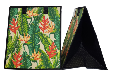 Tropical Paper Garden - Insulated Large Bag - BEAMS CREAM