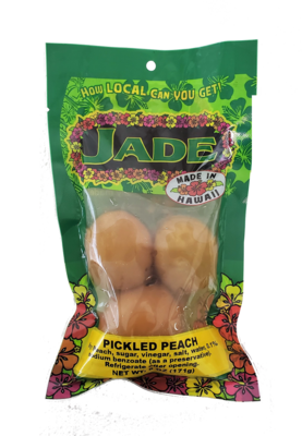 Jade Large Bag Pickled Peach 6oz (NOT FOR SALE TO CALIFORNIA)