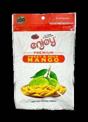 Enjoy Premium Sweet & Sour Mango 3.5 oz (NOT FOR SALE TO CALIFORNIA)