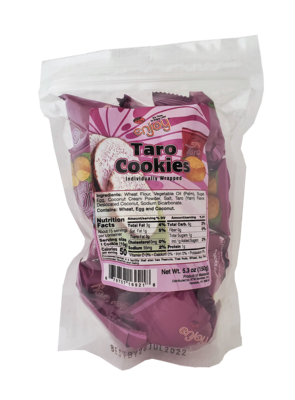 Enjoy Taro Cookies 5.3 oz (NOT FOR SALE TO CALIFORNIA)