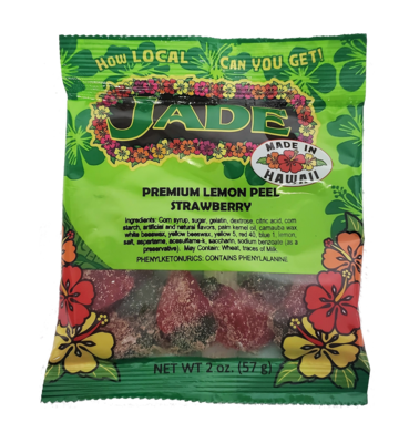 Jade Premium Lemon Peel Strawberry 2 oz (NOT FOR SALE TO CALIFORNIA)