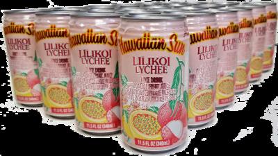 Hawaiian Sun Drink - Lilikoi Lychee 11.5 oz (Pack of 24)