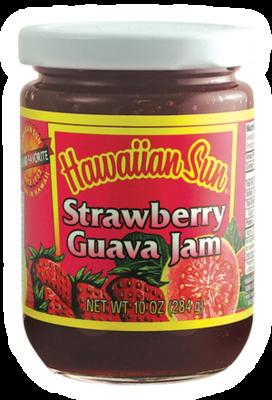 Hawaiian Sun Strawberry Guava Jam 10 oz