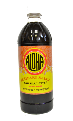 Aloha Hawaiian Style Teriyaki Sauce 24 oz