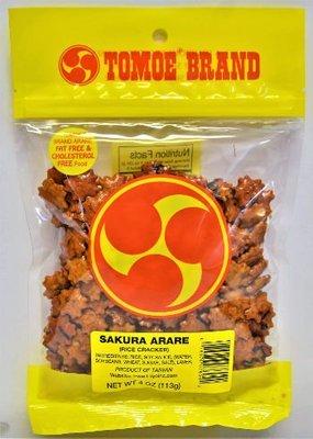 Tomoe Sakura Arare 4 oz (NOT FOR SALE TO CALIFORNIA)