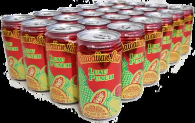 Hawaiian Sun Drink - Luau Punch 11.5 oz (Pack of 24)