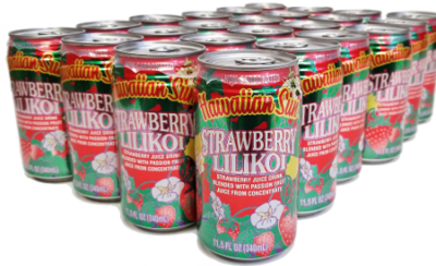 Hawaiian Sun Drink - Strawberry Lilikoi 11.5 oz (Pack of 24)