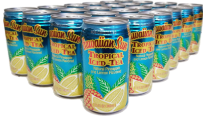 Hawaiian Sun Drink - Tropical Iced Tea 11.5 oz (Pack of 24)