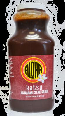 Aloha Katsu Sauce 78 oz