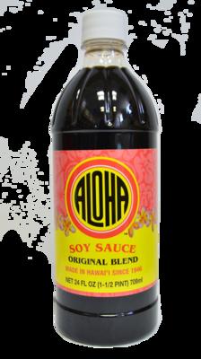 Aloha Soy Sauce Original Blend 24 oz