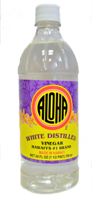 Aloha White Distilled Vinegar 24 oz