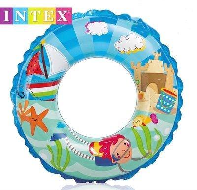 Transparent Swim Ring Swim Boy