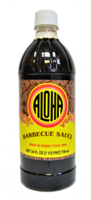 Aloha Barbecue Sauce 24 oz