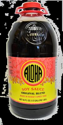 Aloha Soy Sauce Original Blend 64 oz