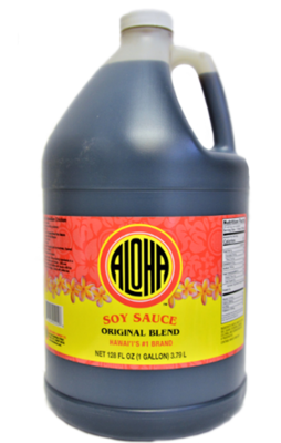 Aloha Original Blend Soy Sauce Gallon (128 fl oz)
