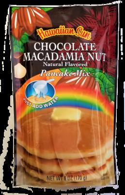 Hawaiian Sun Pancake Mix-Chocolate Macadamia Nut 6 oz