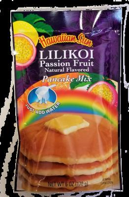 Hawaiian Sun Pancake Mix-Lilikoi Passion Fruit 6 oz