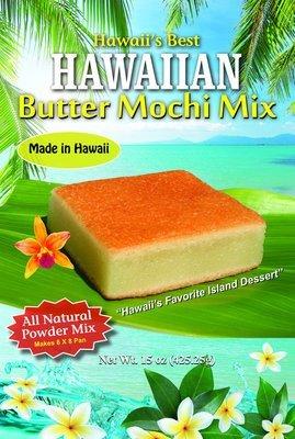 Hawaii's Best Hawaiian Butter Mochi Mix 15oz