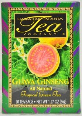 Hawaiian Islands Tea Co. Guava Gingseng Tea 20CT/EA 1.27oz