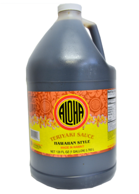 Aloha Teriyaki Sauce 1 Gallon