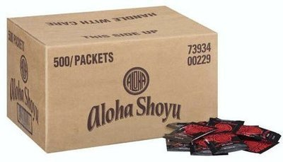 Aloha Original Blend Soy Sauce 500 Packets/0.20 fl oz
