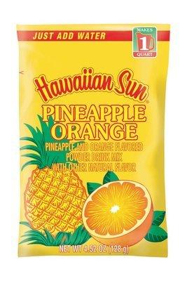 Hawaiian Sun Powdered Pineapple Orange Nectar Drink Mix 4.52 oz