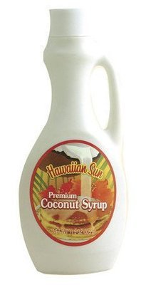 Hawaiian Sun Premium Coconut Syrup 8.3 oz
