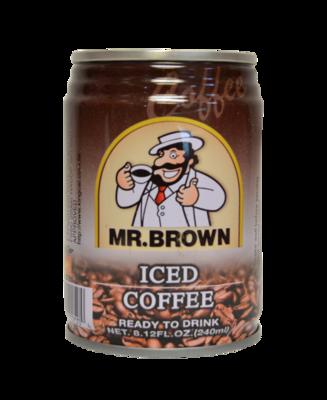 Mr. Brown Iced Coffee 8.12 oz