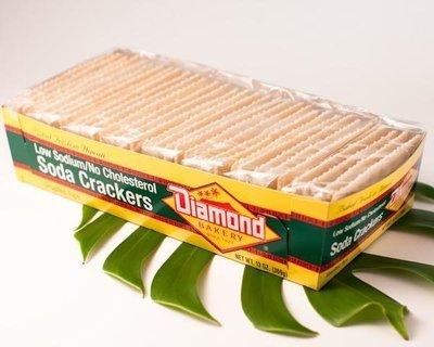 Diamond Bakery Low Sodium/No Cholesterol Hawaiian Soda Crackers  13 oz