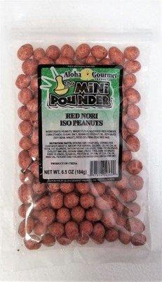 Aloha Gourmet Da Mini Pounder Red Nori Iso Peanut 6.5 oz
