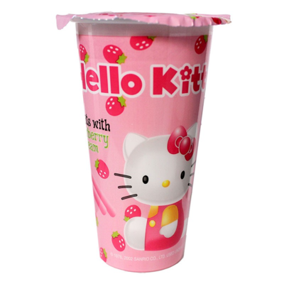 Hello Kitty Strawberry Biscuits 1.76 oz