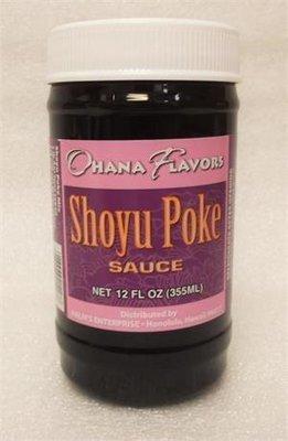Ohana Flavors  Shoyu Poke Sauce 12oz